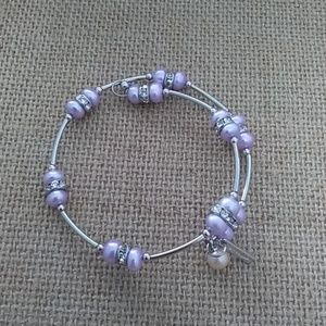 Wisteria Retired Wire Wrap Bracelet